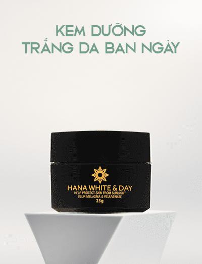 Kem dưỡng da ban ngày Hanayuki White & Day chính hãng
